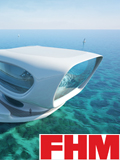 Cover for magazine FHM Malaysia, Tsunami Research and the Marine Research Center Bali